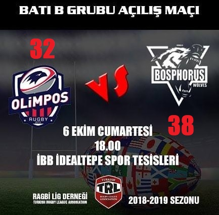 Idealtepe, 06/10/2018 Olimpos vs Bosphorus